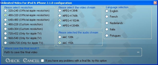Unlimited Video For iPod & iPhone