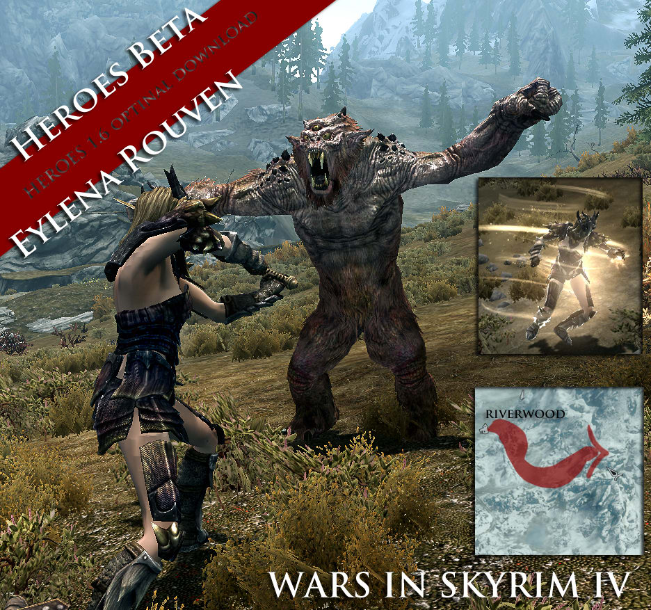 Wars in Skyrim
