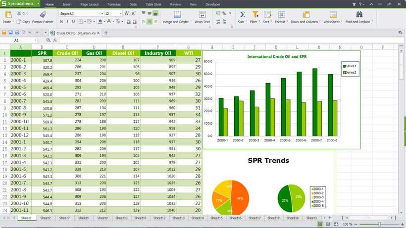 downloadable spreadsheets excel