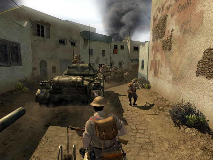Firefight cod2 realism sound mod v3. 1 addon call of duty 2.