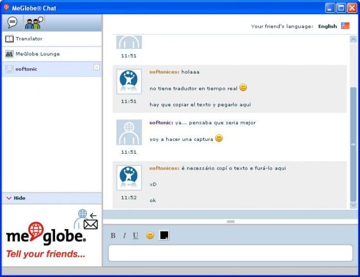 MeGlobe Desktop