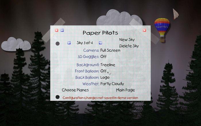 Paper Pilots Screensaver