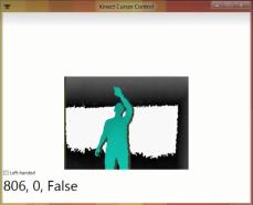 Kinect Mouse Cursor