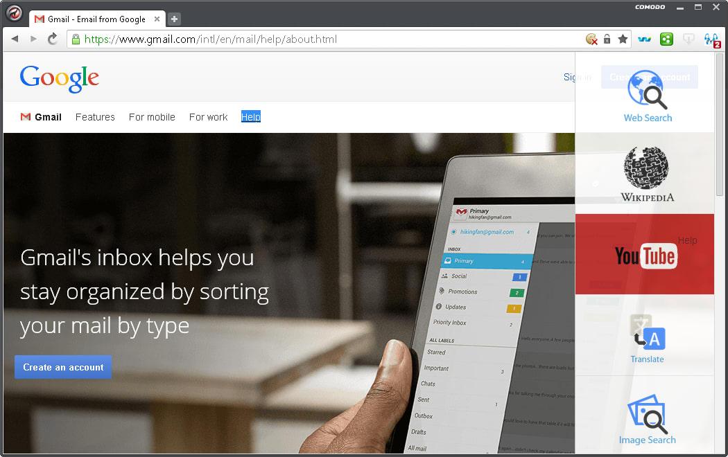 ... gebaseerd is op Chromium, de broncode van Google Chrome. De browser is snel, slank en zit vol met functies om surfen op het web nog veiliger te maken.