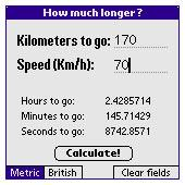 How much longer?