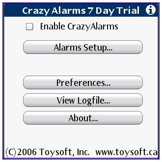 Crazy Alarms