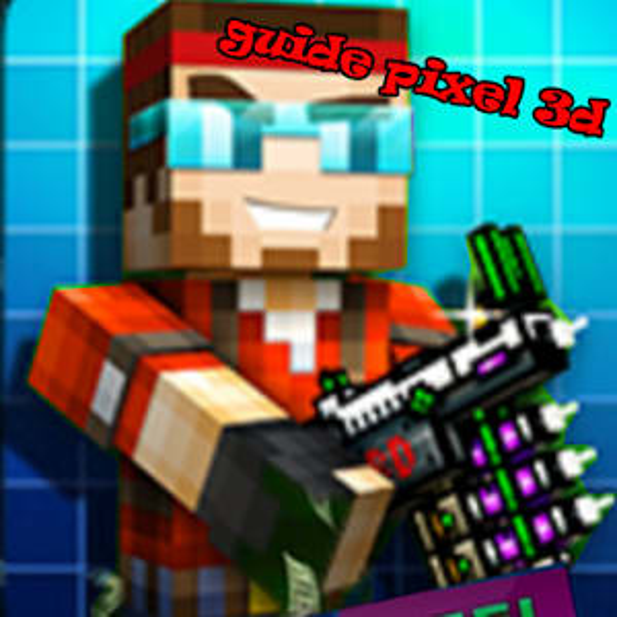 Guide For Pixel Gun 3D free
