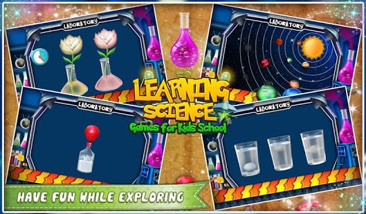 Aprendizaje Ciencia Kids Schoo