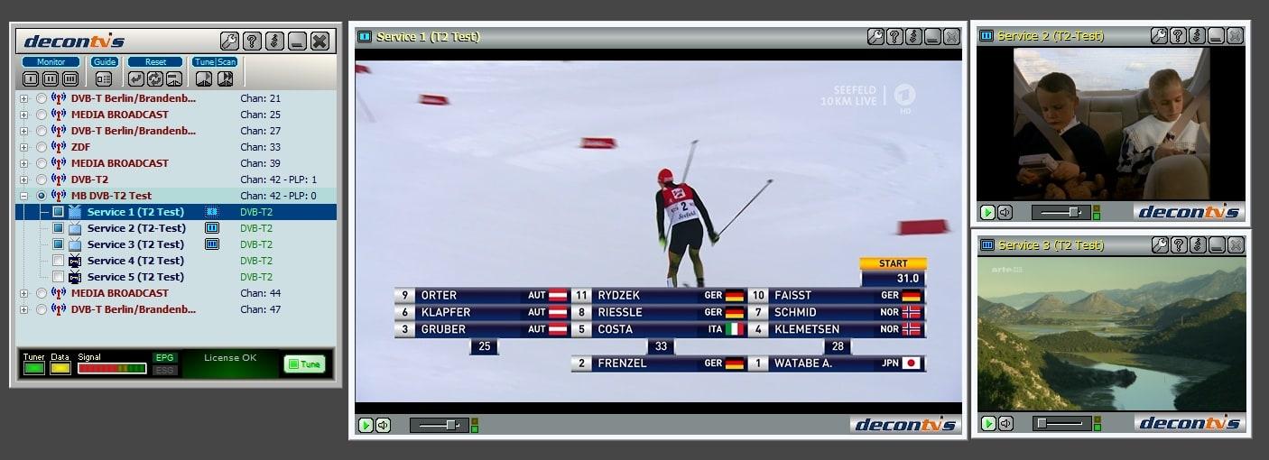 Mobile TV Viewer for DVB