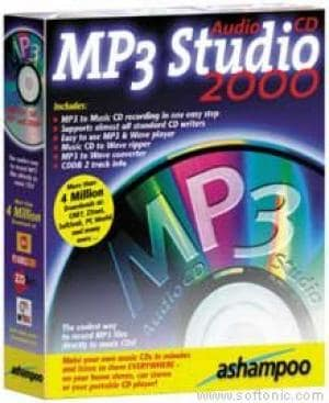 AudioCD MP3 Studio 2000