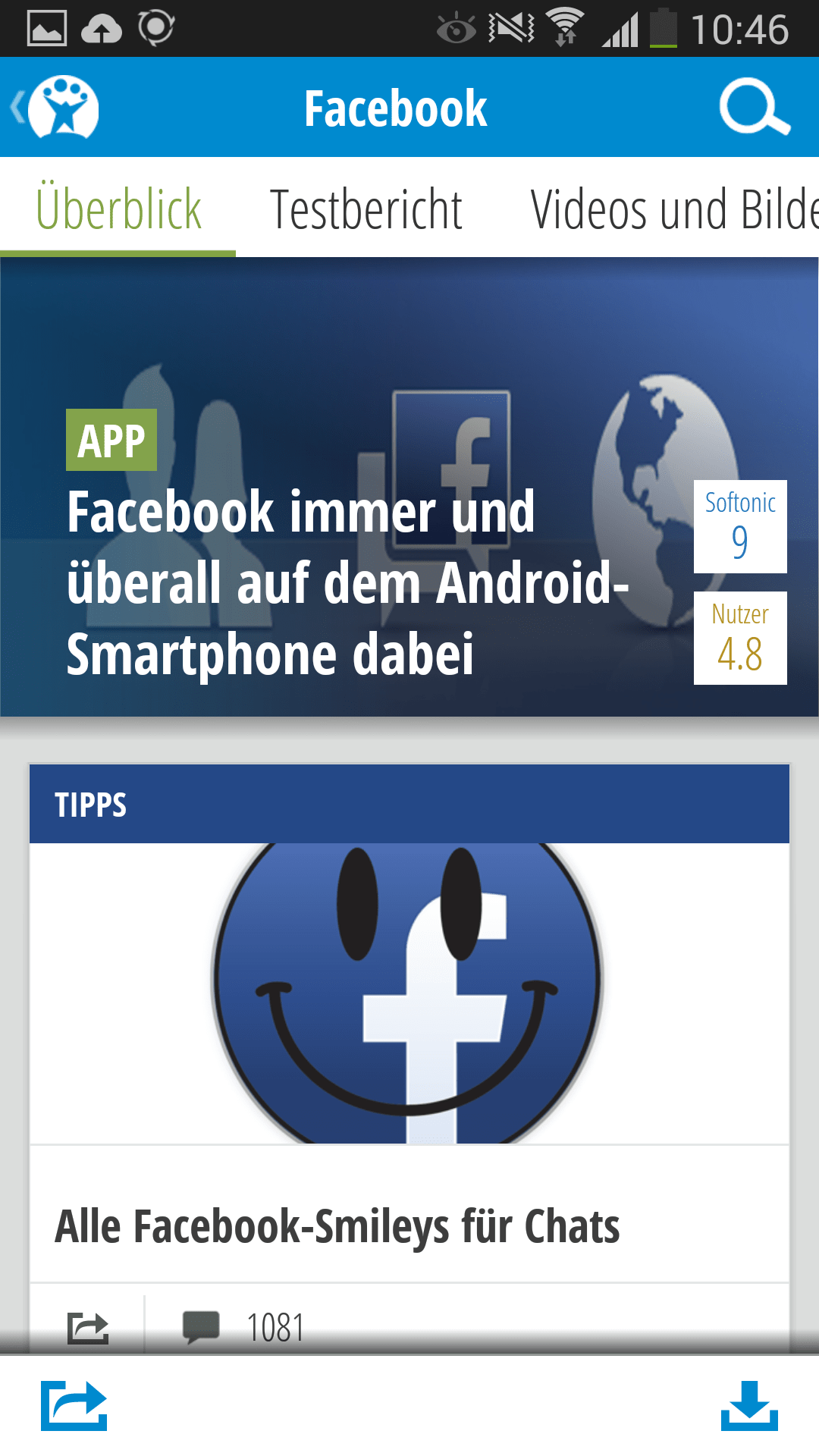 Softonic für Android - Download