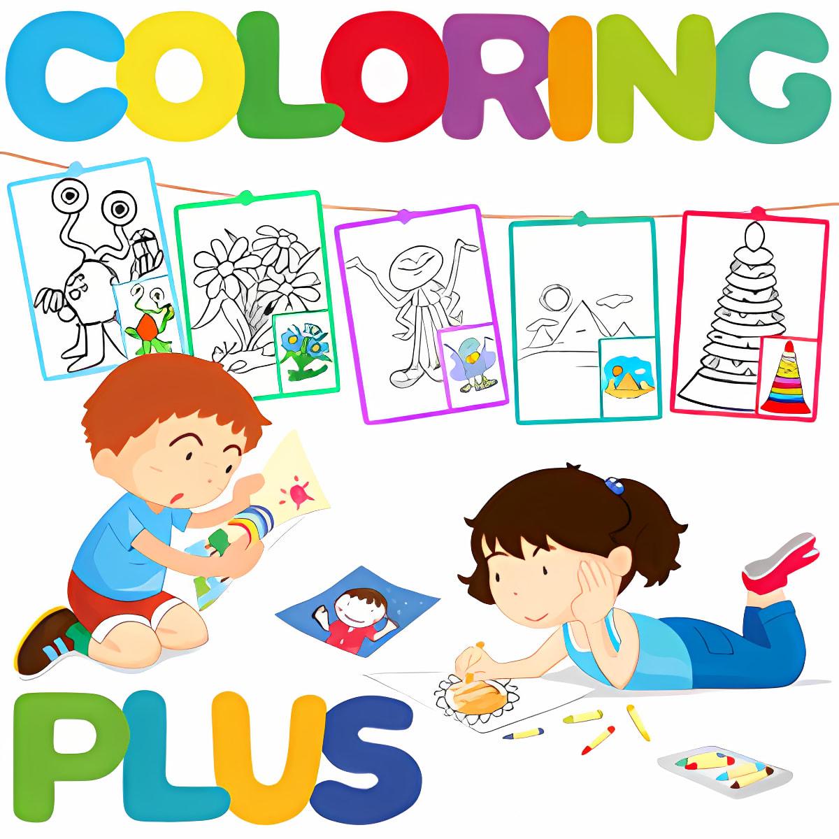 Coloring Plus