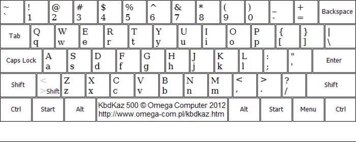 KbdKaz 500
