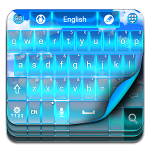 Blue Sky Keyboard Theme