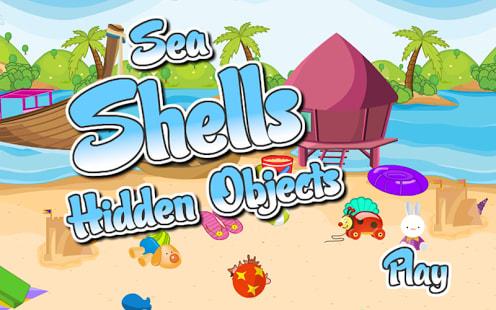 Hidden Objects Sea Shells