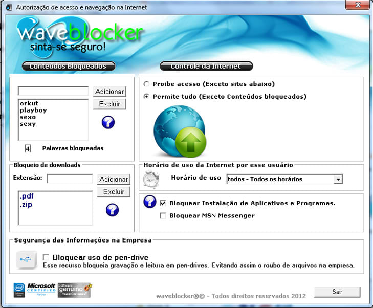 Wave Blocker - Bloquear Sites