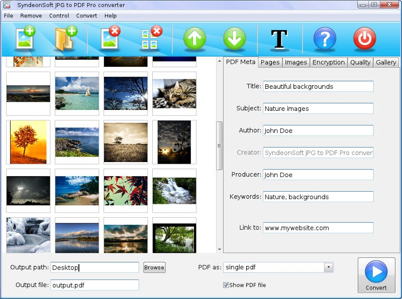 JPG to PDF Pro Converter