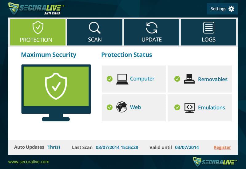 SecuraLive Antivirus