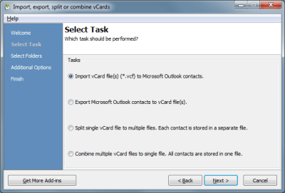 vCard ImportExport for Outlook