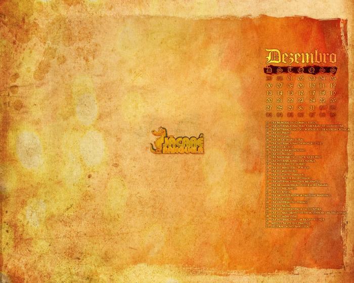 Calendário Virtual do Jacaré Banguela