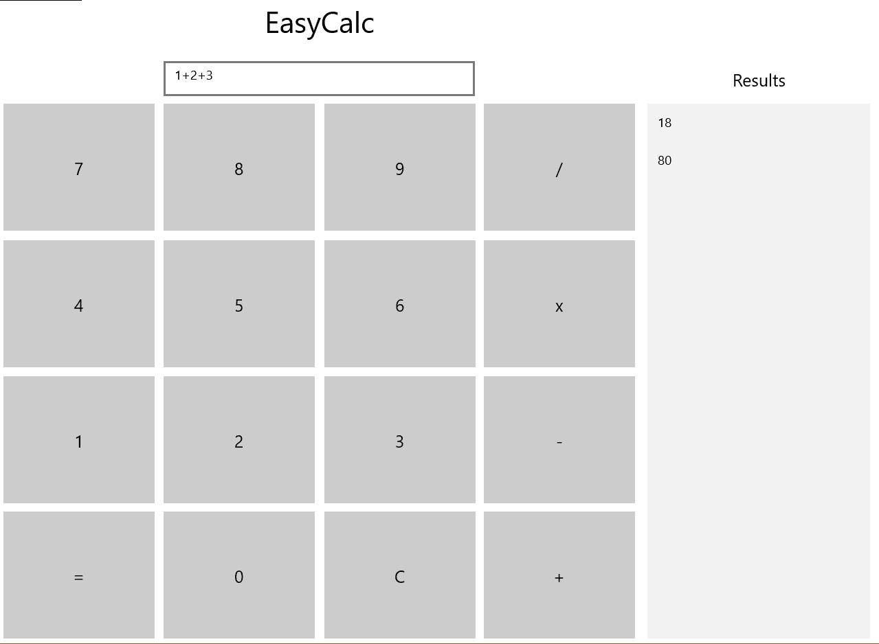 EasyCalc