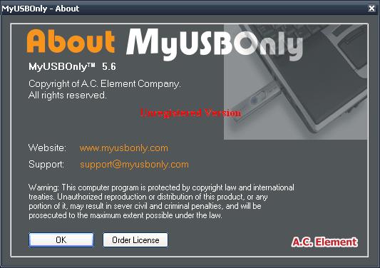 MyUSBOnly