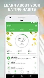 Runtastic Balance Food Tracker & Calorie Counter