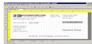 IDAutomation MICR E13B Font Advantage
