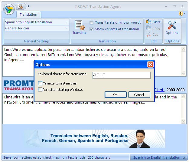 PROMT Translation Agent