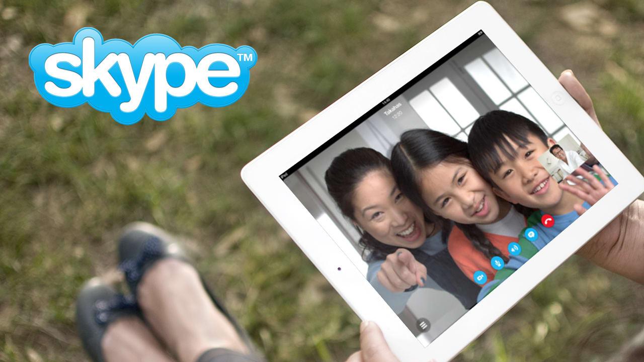 Skype per iPad