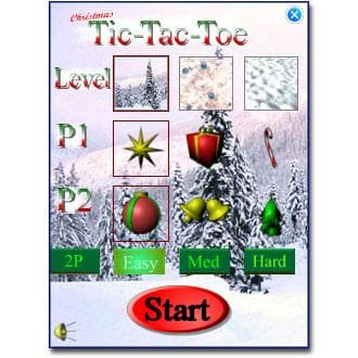 Christmas Tic-Tac-Toe