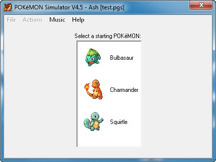 Pokémon Simulator