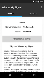 Wheres my Signal: Signal Refresher
