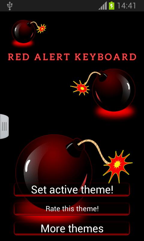Red Alert Keyboard