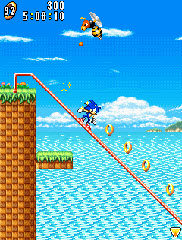 Sonic Advance para Java  Descargar