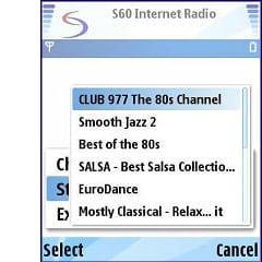 S60 Internet Radio