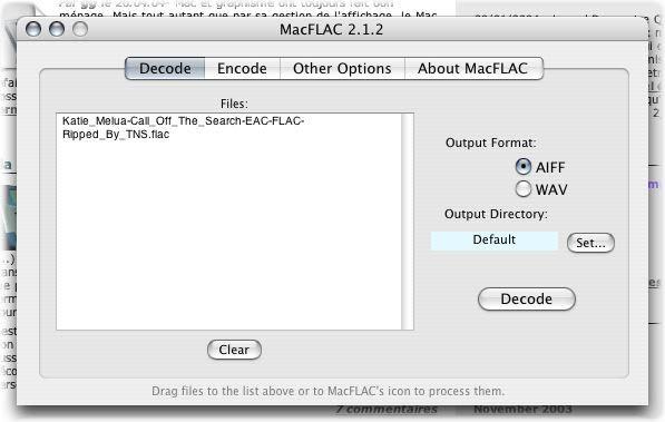MacFLAC