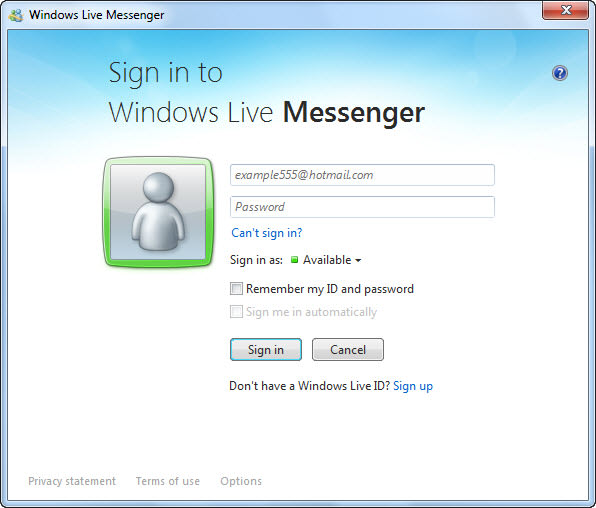 Msn messenger gratis download 2011