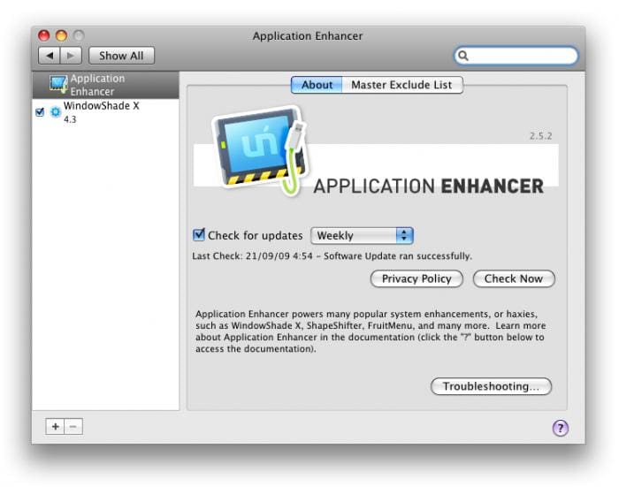 Application Enhancer