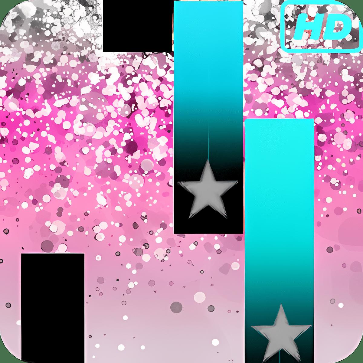 Glitter Piano Tiles