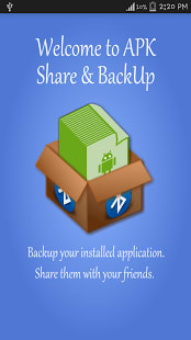 Bluetooth App Share Backup