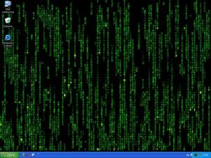 Wallpaper WinMatrix XP