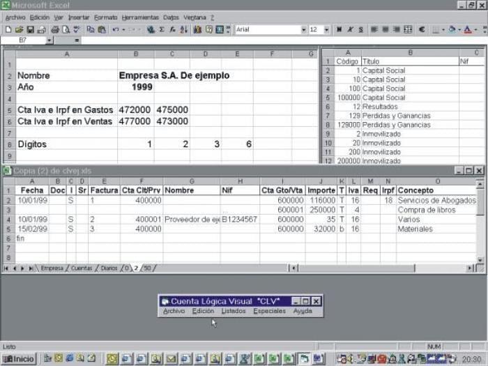 Cuenta Logica Visual *CLV*