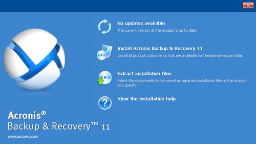 Acronis Backup for Windows Server
