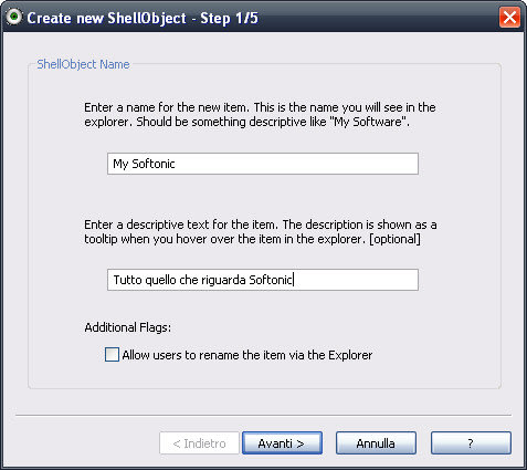 Shell Object Editor