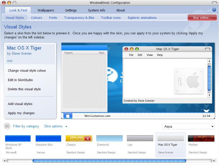 Mac OS X Theme