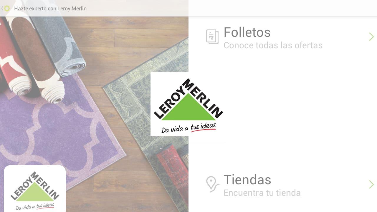 Folletos e ideas leroy merlin para android descargar for Folleto leroy merlin