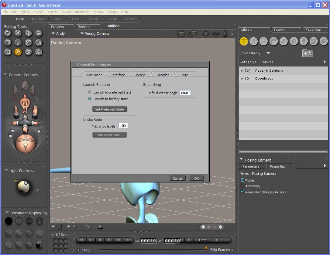 Poser download for Programma rendering free