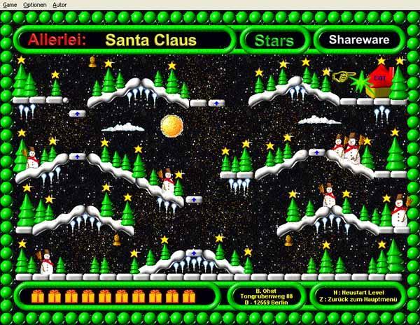 Santa Claus Stars