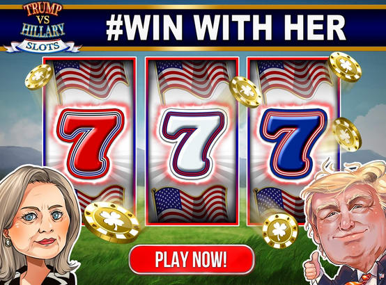 Trump vs. Hillary Slot Games!